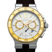 ブルガリ BVLGARI ディアゴノ カリブロ303 DG42C6SPGLDCH ホワイト文字盤 メンズ 腕時計 【新品】