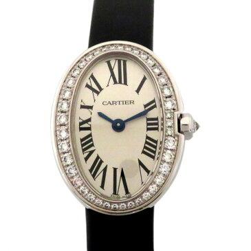 カルティエ CARTIER ベニュワール ミニベニュワール WB520027 ホワイト文字盤 レディース 腕時計 【新品】