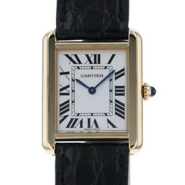 カルティエ CARTIER タンク ソロ SM W1018755 ホワイト文字盤 レディース 腕時計 【中古】