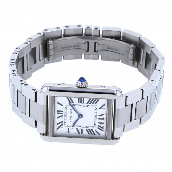 カルティエCartierタンクソロSMW5200013シルバー文字盤新品腕時計レディース