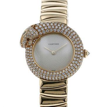 カルティエ CARTIER パンテール1925 ダイヤ パンサー - シャンパン文字盤 レディース 腕時計 【中古】