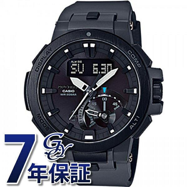 カシオ CASIO プロトレック PRW-7000-8JF ブラック文字盤 メンズ 腕時計 新品:株式会社ジェムキャッスルゆきざき