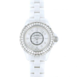 Chanel CHANEL J12 29mm H2572 Reloj de mujer con esfera blanca [Nuevo]