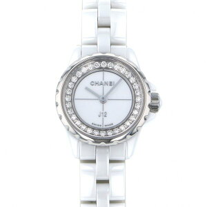 [Limited time point triple 8/2 8/9] Chanel CHANEL J12 XS H5237 White Dial New Watch Ladies