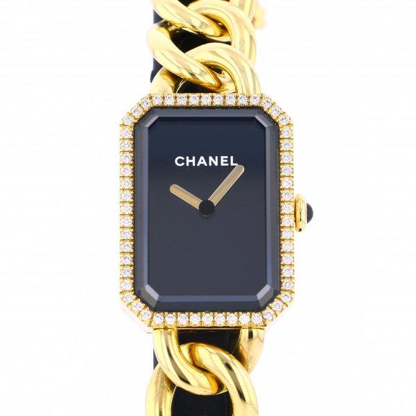 シャネル CHANEL プルミエール H3259 ブラック文字盤 新品 腕時計 レディース