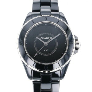 [Limited time point triple 8/2 8/9] Chanel CHANEL J12 Phantom Black World limited 1200 H6346 Black Dial New Watch Ladies