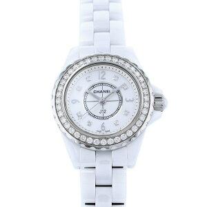 [限时三重8/2 8/9] Chanel CHANEL J12 29mm H2572白色表盘二手手表女士