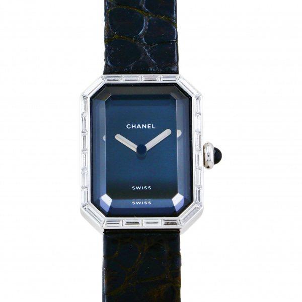 シャネル CHANEL プルミエール バケットダイヤ H0096 ブラック文字盤 新品 腕時計 レディース