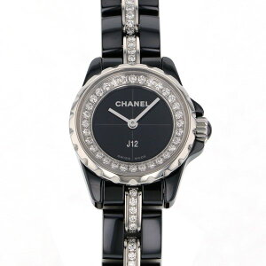 [Limited time point triple 8/2 8/9] Chanel CHANEL J12 XS H5236 Black Dial New Watch Ladies