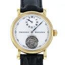 クロノスイス CHRONOSWISS レギュレーター トゥールビヨン CH3121 シャンパン文字盤 中古 腕時計 メンズ