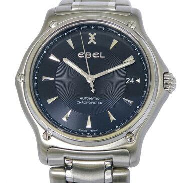 エベル EBEL その他 1911 1215475 1215475 ブラック文字盤 メンズ 腕時計 【中古】