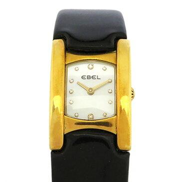 エベル EBEL その他 ベルーガ 8057A21 ホワイト文字盤 レディース 腕時計 【中古】