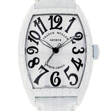 フランク・ミュラー FRANCK MULLER トノウカーベックス ホワイトクロコ 8880SC WHT CRO ホワイト文字盤 メンズ 腕時計 【新品】