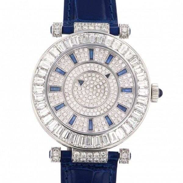 フランク・ミュラー FRANCK MULLER ダブルミステリー DOUBLE MYSTERY 全面ダイヤ文字盤 メンズ 腕時計 【未使用】