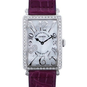 FRANCK MULLER Long Island Relief 952QZ REL MOP D1R CD8 White Dial Ladies Wrist Watch [New]