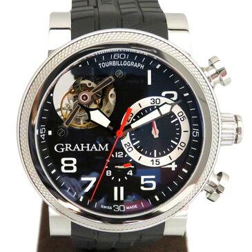 グラハム GRAHAM トラックマスタートゥールビヨン 2TWTS.B05A ブラック文字盤 メンズ 腕時計 【新品】