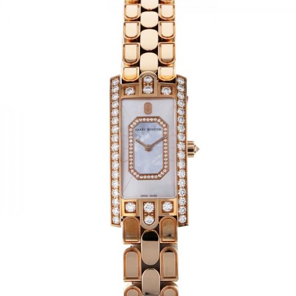 ハリー・ウィンストン HARRY WINSTON アヴェニュー C エメラルド AVCQHM19RR038 ホワイト文字盤 新品 腕時計 レディース