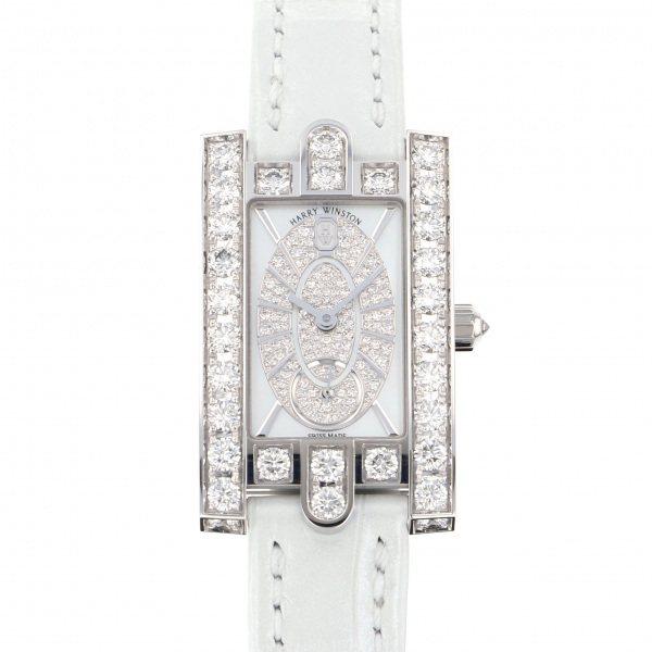 ハリー・ウィンストン HARRY WINSTON アヴェニュー レディアヴェニュー エリプティック AVEQHM21WW241 ホワイト文字盤 新品 腕時計 レディース