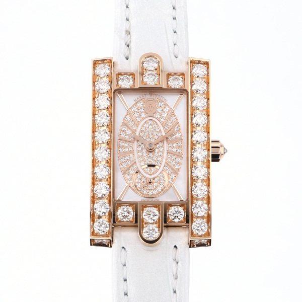 ハリー・ウィンストン HARRY WINSTON アヴェニュー エリプティック ダイヤモンド AVEQHM21RR112 ホワイト文字盤 新品 腕時計 レディース