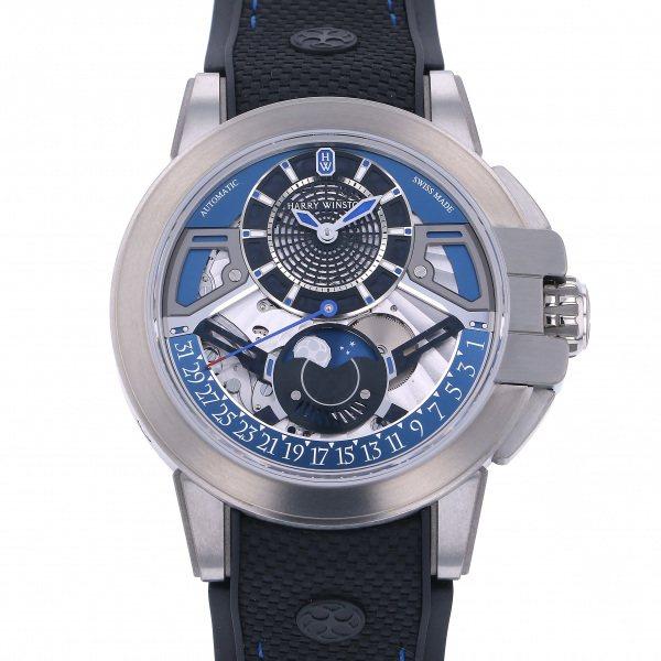 ハリー・ウィンストン HARRY WINSTON プロジェクト Z13 OCEAMP42ZZ001 シルバー文字盤 新品 腕時計 メンズ