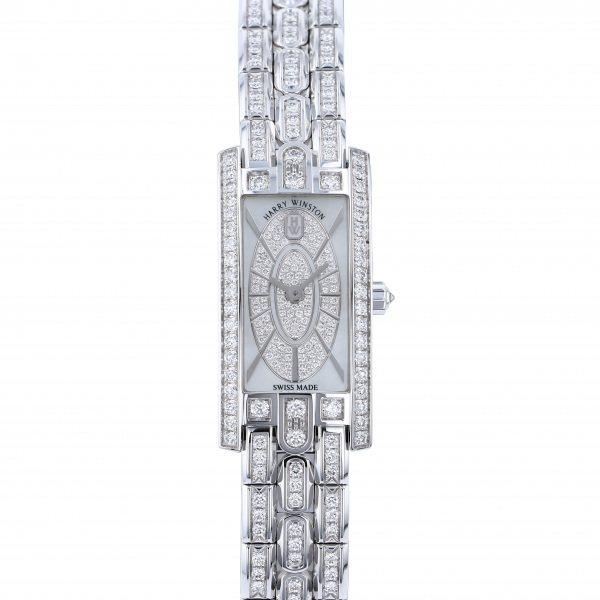 ハリー・ウィンストン HARRY WINSTON アヴェニュー C ミニ・エリプティック AVCQHM16WW054 ホワイト文字盤 新品 腕時計 レディース