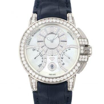ハリー・ウィンストン HARRY WINSTON オーシャン バイレトログラード OCEABI42WW002 ホワイト文字盤 新品 腕時計 メンズ