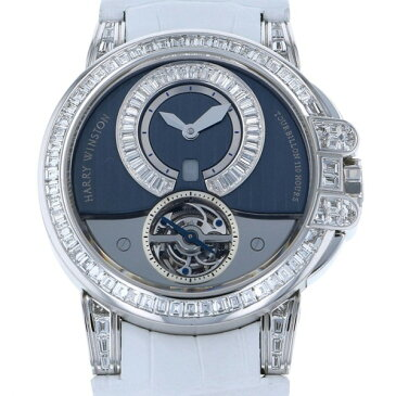 【ポイントバックセール 3%ポイント還元】 ハリー・ウィンストン HARRY WINSTON オーシャン トゥールビヨン 世界限定15本 400/MAT44W ブルー文字盤 メンズ 腕時計 【新品】