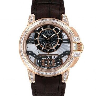 【ポイントバックセール 3%ポイント還元】 ハリー・ウィンストン HARRY WINSTON オーシャン ビッグデイト オートマティック OCEABD42RR002 シルバー/ブラック文字盤 メンズ 腕時計 【新品】