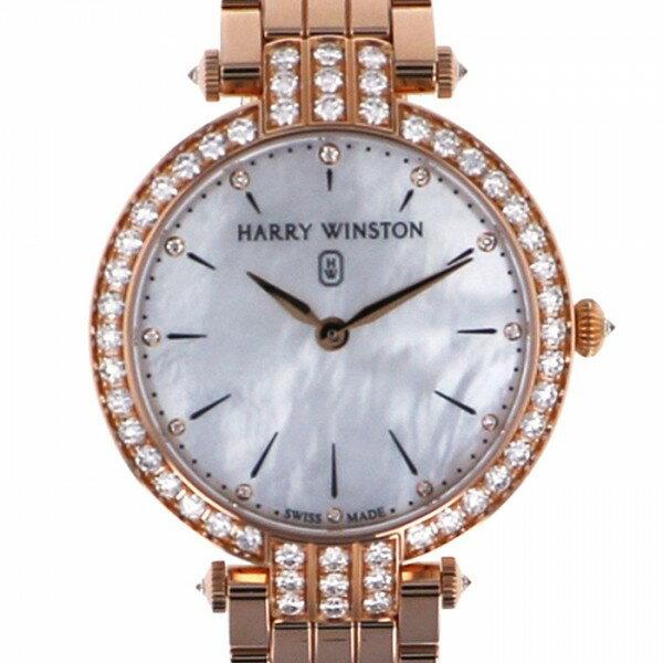 【限定 ポイント10倍 3/21〜】ハリー・ウィンストン HARRY WINSTON プルミエール PRNQHM36RR009 ホワイト文字盤 レディース 腕時計 【新品】