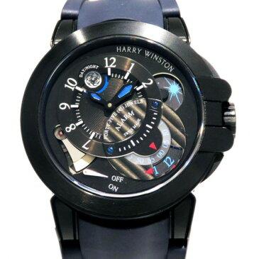 ハリー・ウィンストン HARRY WINSTON オーシャン プロジェクトZ6 ブラックエディション 世界限定300本 OCEMAL44ZZ004 ブラック文字盤 メンズ 腕時計 【新品】