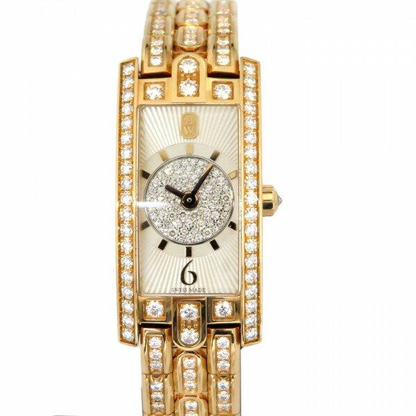 ハリー・ウィンストン HARRY WINSTON アヴェニュー C ミニ アールデコ AVCQHM16RR040 ホワイト文字盤 新品 腕時計 レディース