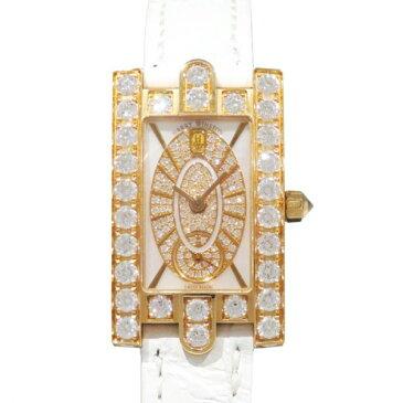ハリー・ウィンストン HARRY WINSTON アヴェニュー エリプティック ダイヤモンドケース AVEQHM21RR112 ホワイトシェル文字盤 レディース 腕時計 【新品】