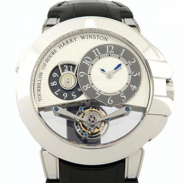 ハリー・ウィンストン HARRY WINSTON オーシャン トゥールビヨンビッグデイト OCEMTD45WW001 ホワイト文字盤 メンズ 腕時計 【新品】
