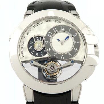 【ポイントバックセール 3%ポイント還元】 ハリー・ウィンストン HARRY WINSTON オーシャン トゥールビヨンビッグデイト OCEMTD45WW001 ホワイト文字盤 メンズ 腕時計 【新品】