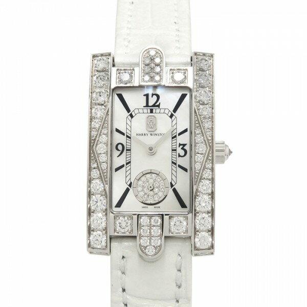 【限定 ポイント10倍 3/21〜】ハリー・ウィンストン HARRY WINSTON アヴェニュー オーロラ ダイヤモンドケース AVEQHM21WW231 ホワイト文字盤 メンズ 腕時計 【新品】