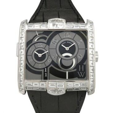 【ポイントバックセール 3%ポイント還元】 ハリー・ウィンストン HARRY WINSTON アヴェニュー スクエアード AVSATZ45WW003 グレー文字盤 メンズ 腕時計 【未使用】