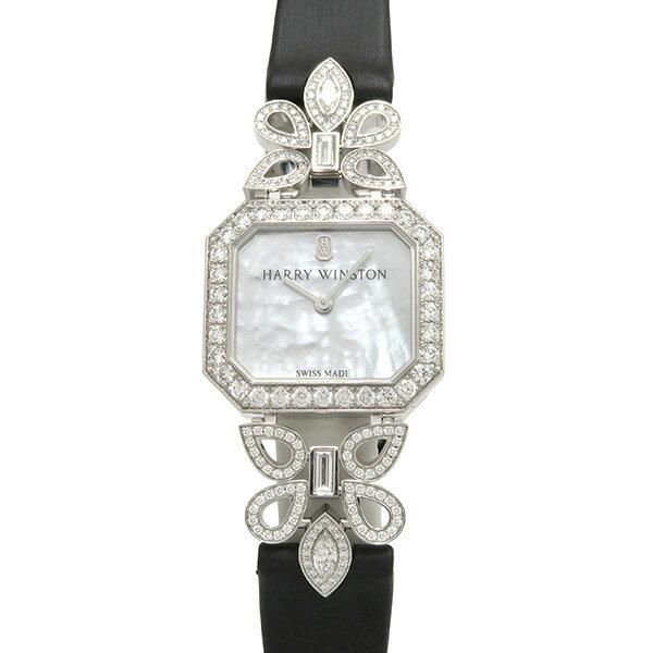 ハリー・ウィンストン HARRY WINSTON サブライム タイムピース HJTQHM25WW001 ホワイト文字盤 新品 腕時計 レディース