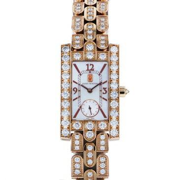 ハリー・ウィンストン HARRY WINSTON アヴェニュー クラシック 310/LQRR.MD31/D3.1 ホワイトシェル文字盤 レディース 腕時計 【中古】