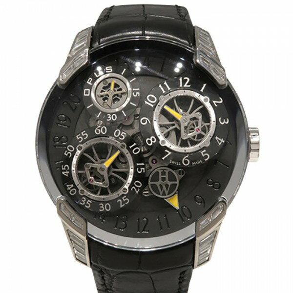 ハリー・ウィンストン HARRY WINSTON その他 オーパス10 世界10本限定 500/MMJFMW グレー文字盤 メンズ 腕時計 【中古】
