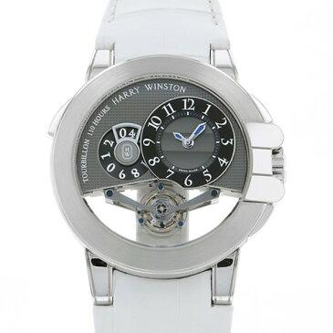 【ポイントバックセール 3%ポイント還元】 ハリー・ウィンストン HARRY WINSTON オーシャン トゥールビヨン ビッグデイト 世界限定25本 OCEMTD45WW002 グレー文字盤 メンズ 腕時計 【新品】