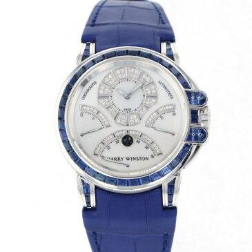 ハリー・ウィンストン HARRY WINSTON オーシャン クロノグラフ トリレトログラード 400/MCRA44W ホワイト文字盤 新古品 腕時計 メンズ