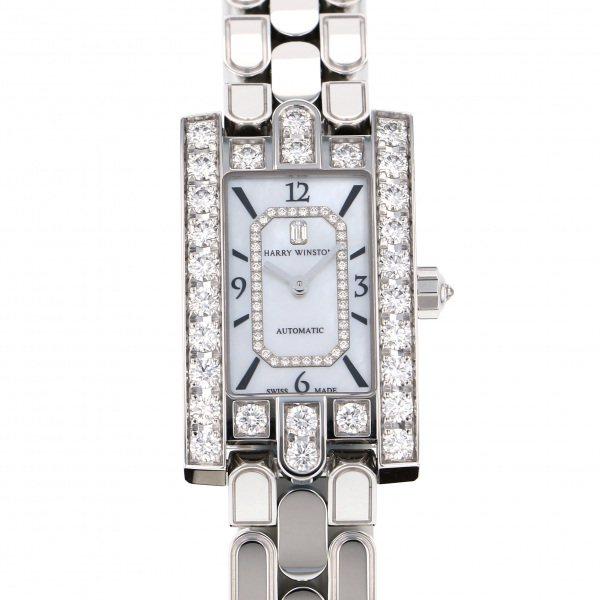 ハリー・ウィンストン HARRY WINSTON アヴェニュー クラシック オートマティック AVEAHM21WW002 ホワイト文字盤 新品 腕時計 レディース