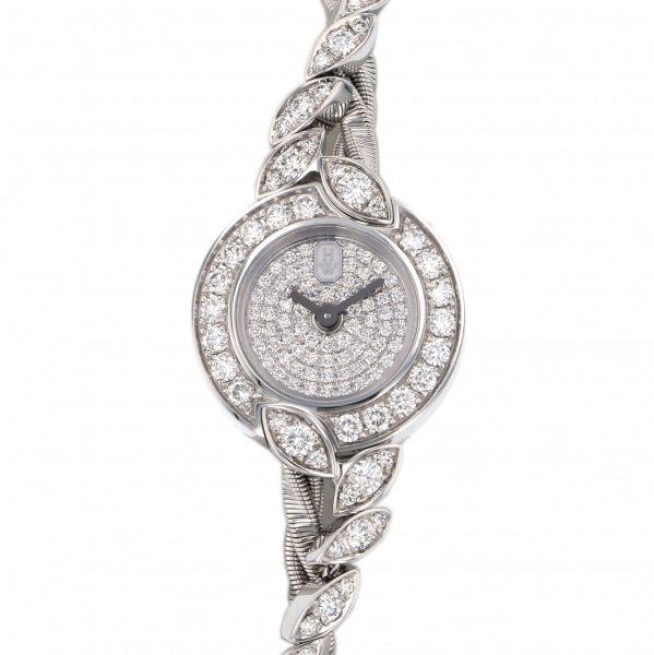 ハリー・ウィンストン HARRY WINSTON ミニツイスト バイ ハリーウィンストン HJTQHM18WW037 全面ダイヤ文字盤 新品 腕時計 レディース