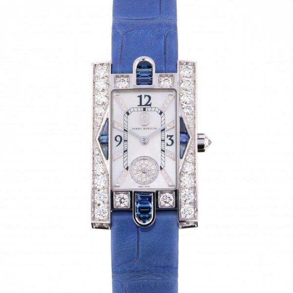 ハリー・ウィンストン HARRY WINSTON アヴェニュー クラシック オーロラ AVEQHM21WW292 ホワイト文字盤 新品 腕時計 レディース