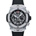 【ポイントバックセール 3%ポイント還元】 ウブロ HUBLOT ビッグバン ウニコ チタニウム 411.NX.1170.RX.1104 グレー文字盤 メンズ 腕時計 【新品】