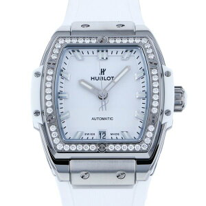 Hublot HUBLOT Spirit of Big Bang Titanium White Diamond 665.NE.2010.RW.1204 White Dial Ladies Watch [New]