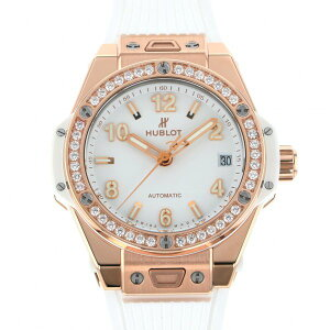 Hublot HUBLOT Big Bang One Click King Gold White Diamond 465.OE.2080.RW.1204 White Dial Ladies Wrist Watch [New]