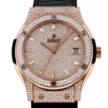 ウブロ HUBLOT クラシック・フュージョン 511.OX.9010.LR.1704 ダイヤモンド文字盤 メンズ 腕時計 【新品】