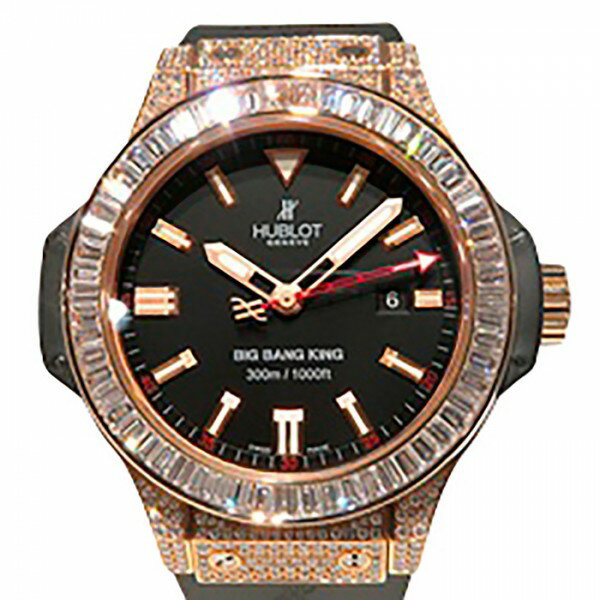 ウブロ HUBLOT ビッグバン キング 322.PX.1023.RX.094 ブラック文字盤 メンズ 腕時計 【新品】