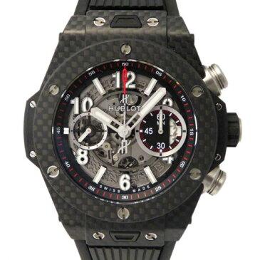 ウブロ HUBLOT ビッグバン ウニコ カーボン 411.QX.1170.RX グレー文字盤 メンズ 腕時計 【新品】